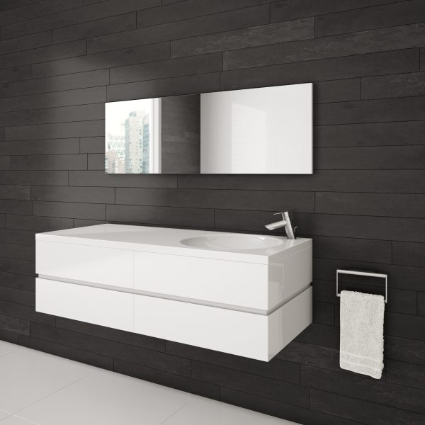 Aquamobilia AXE-48-Duo-WH Blanc Lustré-0