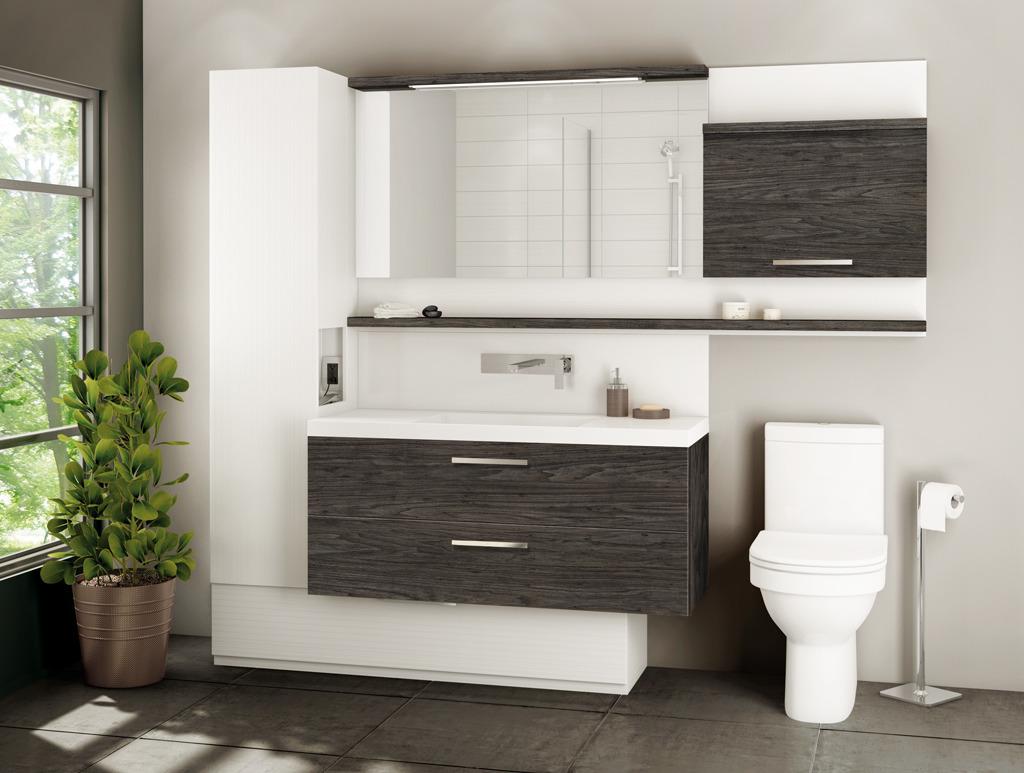 Vanit duo s lection leblanc r no tendances - Lingerie salle de bain ...