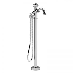 Single hole faucet for  floor-mount tub, AT