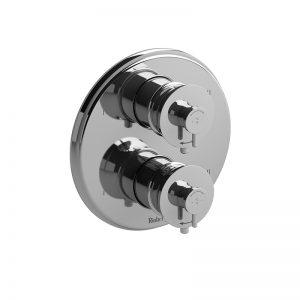 Garniture pour valve 4 voies non-partagées coaxiale Type T/P (thermostatique/pression équilibrée)