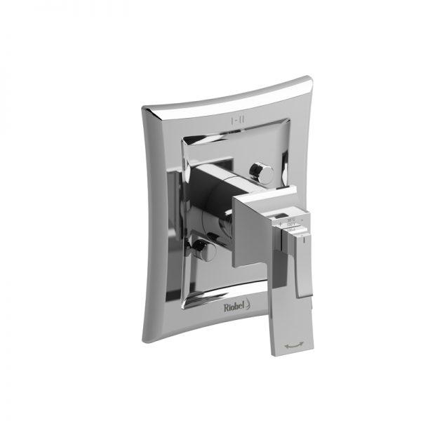 Valve complète 2 voies coaxiale Type T/P (thermostatique/pression équilibrée) PEX EXPANSION