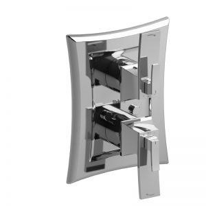 """Valve complète 4 voies coaxiale Type T/P (thermostatique/pression équilibrée) ¾"""""""