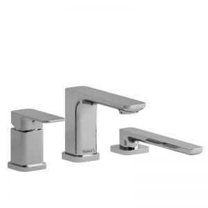 Garniture de robinet de bain 3 morceaux Type P (pression équilibrée) avec douchette